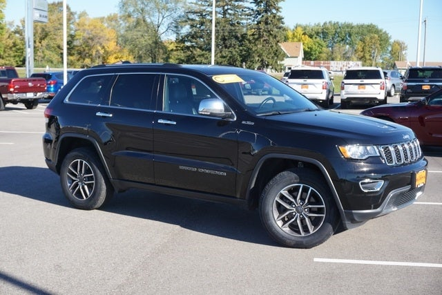 Certified 2020 Jeep Grand Cherokee Limited with VIN 1C4RJFBG3LC300975 for sale in New Prague, Minnesota