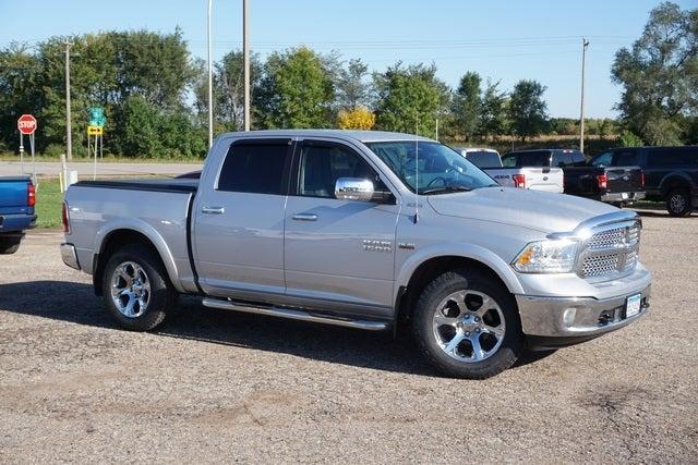 Used 2016 RAM Ram 1500 Pickup Laramie with VIN 1C6RR7NT1GS235344 for sale in New Prague, Minnesota