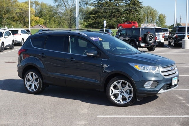 Certified 2019 Ford Escape Titanium with VIN 1FMCU9J94KUC37598 for sale in New Prague, Minnesota