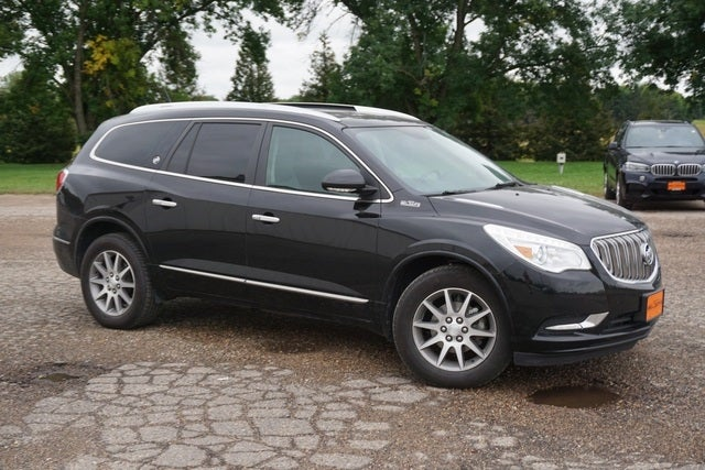 Used 2016 Buick Enclave Leather with VIN 5GAKVBKDXGJ331213 for sale in New Prague, Minnesota